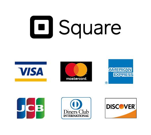 使用できるクレジットカード一覧